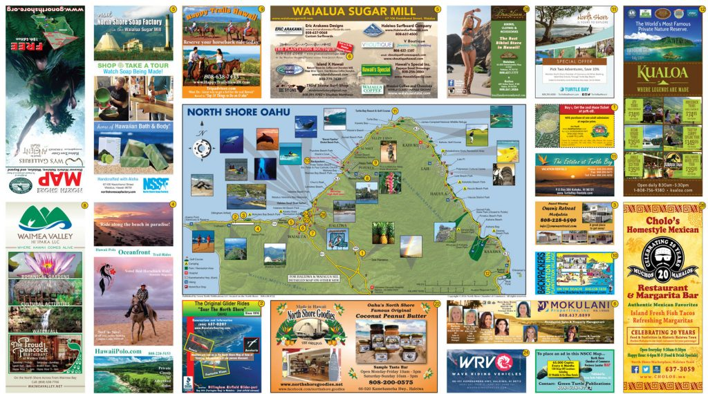 oahu north shore map About The North Shore North Shore Chamber Of Commerce oahu north shore map